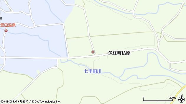 大分県竹田市久住町大字仏原2164周辺の地図