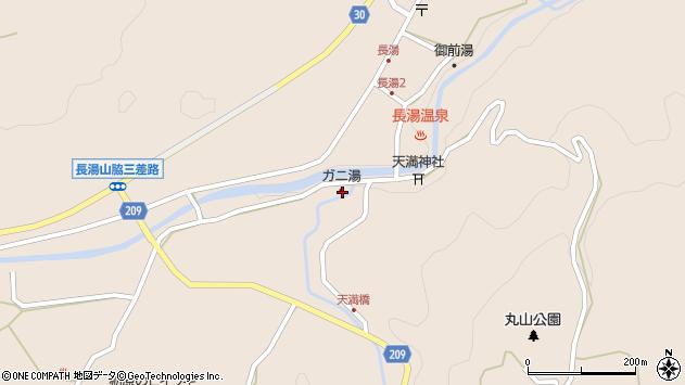 大分県竹田市直入町大字長湯7699周辺の地図