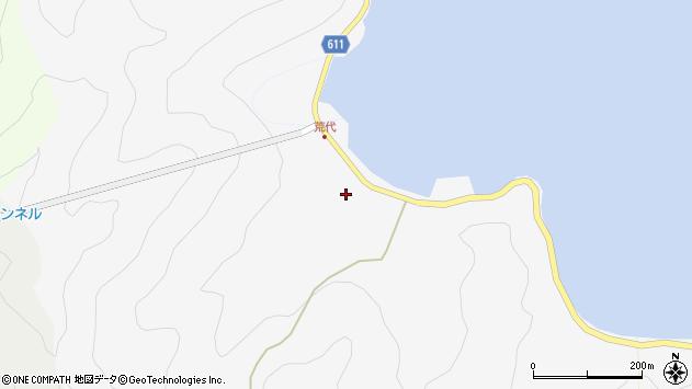 大分県津久見市四浦545周辺の地図