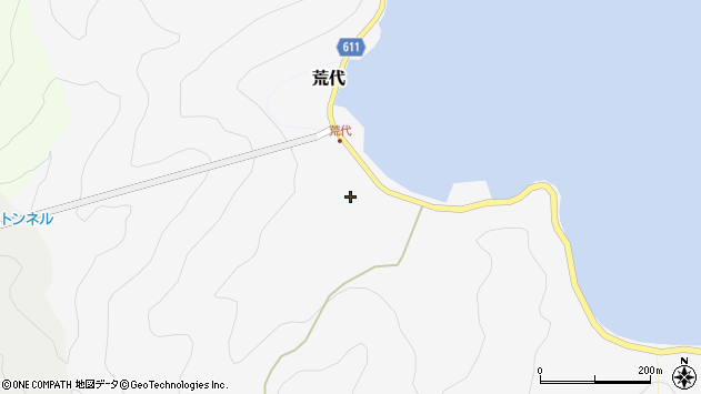 大分県津久見市四浦539周辺の地図
