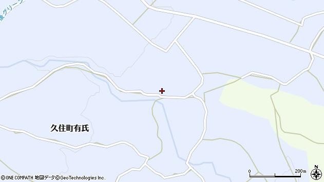 大分県竹田市久住町大字有氏2624周辺の地図