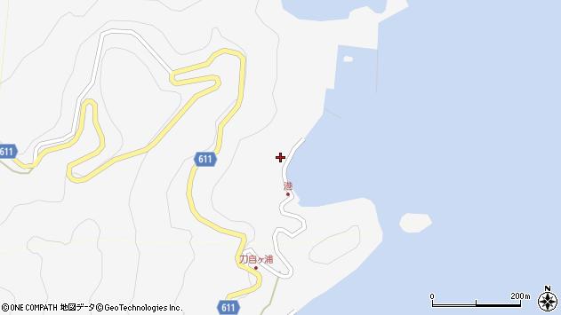 大分県津久見市四浦2424周辺の地図