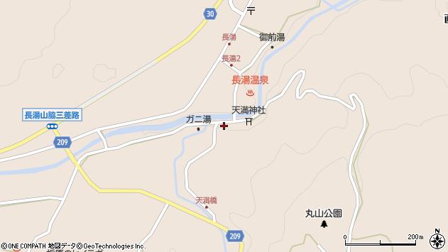大分県竹田市直入町大字長湯7773周辺の地図