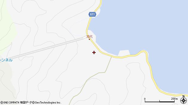 大分県津久見市四浦540周辺の地図