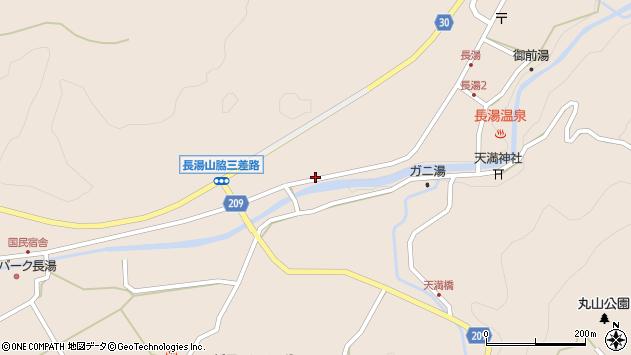 大分県竹田市直入町大字長湯7627周辺の地図