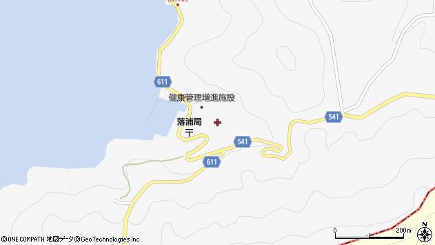 大分県津久見市四浦3911周辺の地図