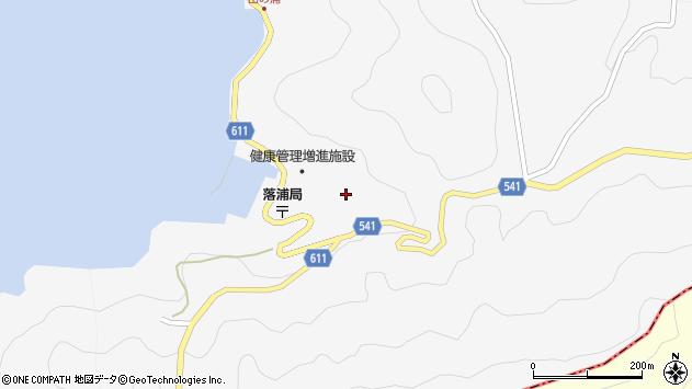 大分県津久見市四浦3909周辺の地図