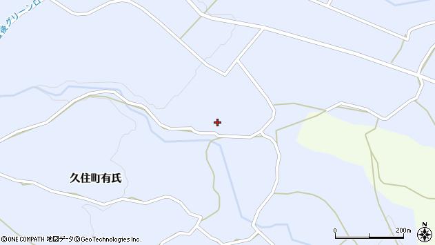 大分県竹田市久住町大字有氏2625周辺の地図