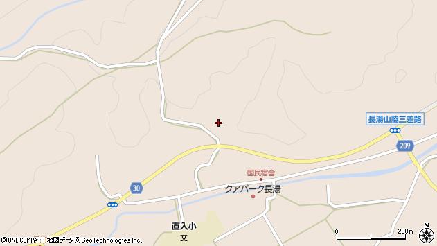 大分県竹田市直入町大字長湯3142周辺の地図