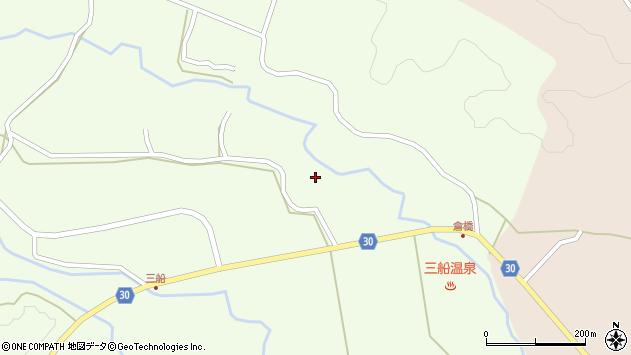 大分県竹田市久住町大字仏原1226周辺の地図
