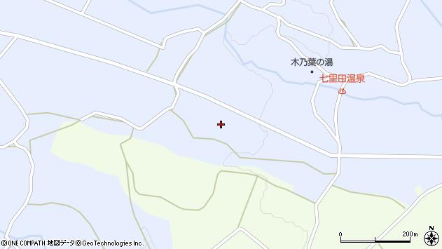 大分県竹田市久住町大字有氏3744周辺の地図