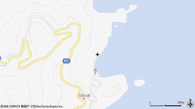 大分県津久見市四浦2440周辺の地図