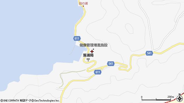 大分県津久見市四浦3950周辺の地図