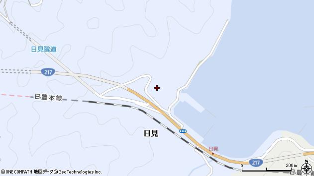 大分県津久見市日見1178周辺の地図