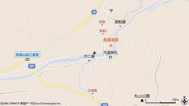 大分県竹田市直入町大字長湯7996周辺の地図