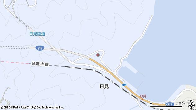 大分県津久見市日見1228周辺の地図