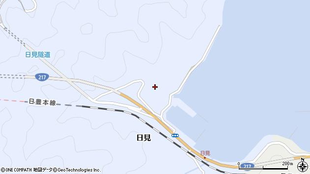大分県津久見市日見1181周辺の地図