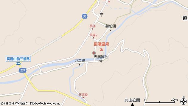 大分県竹田市直入町大字長湯7993周辺の地図