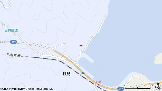 大分県津久見市日見1445周辺の地図
