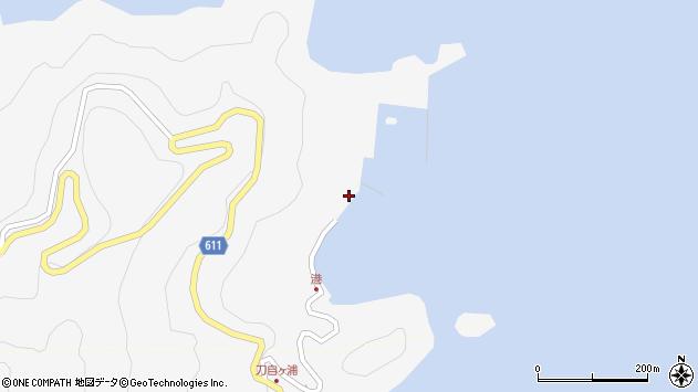 大分県津久見市四浦2419周辺の地図