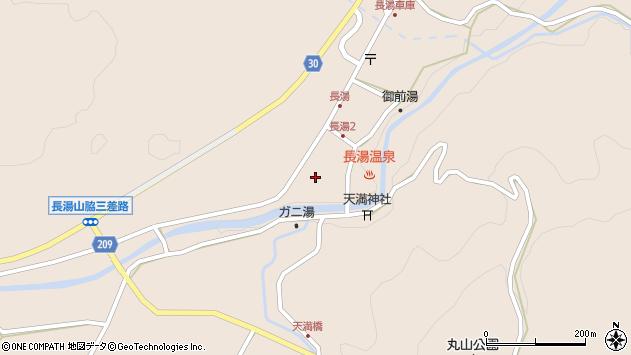大分県竹田市直入町大字長湯8000周辺の地図