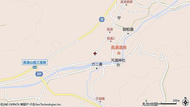 大分県竹田市直入町大字長湯8019周辺の地図