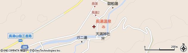 大分県竹田市直入町大字長湯8002周辺の地図