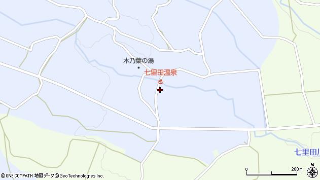 大分県竹田市久住町大字有氏3908周辺の地図