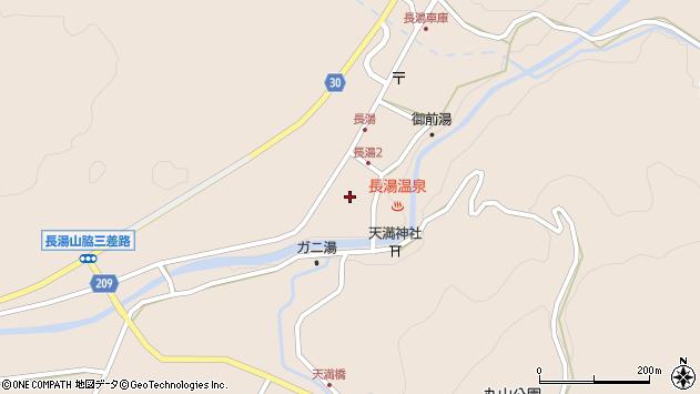大分県竹田市直入町大字長湯8011周辺の地図