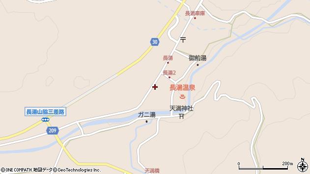 大分県竹田市直入町大字長湯8009周辺の地図