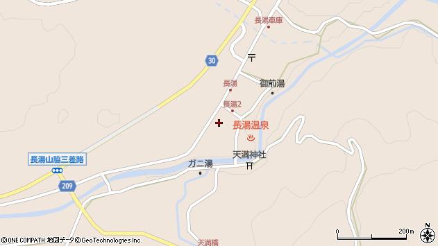 大分県竹田市直入町大字長湯8010周辺の地図