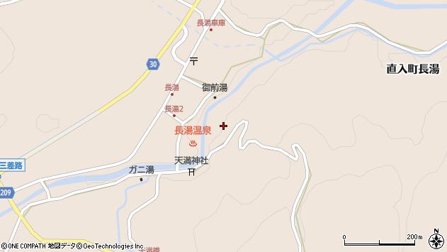 大分県竹田市直入町大字長湯7788周辺の地図
