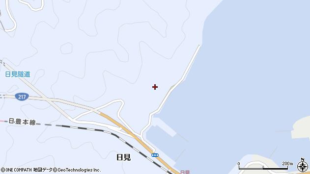 大分県津久見市日見1138周辺の地図