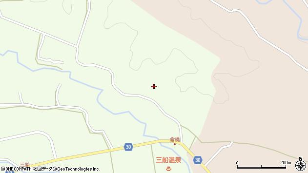 大分県竹田市久住町大字仏原1430周辺の地図