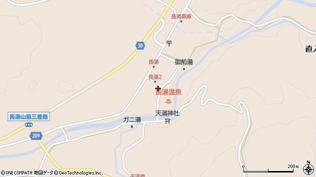 大分県竹田市直入町大字長湯8005周辺の地図