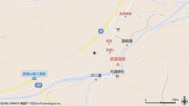 大分県竹田市直入町大字長湯8026周辺の地図