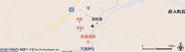 大分県竹田市直入町大字長湯7979周辺の地図