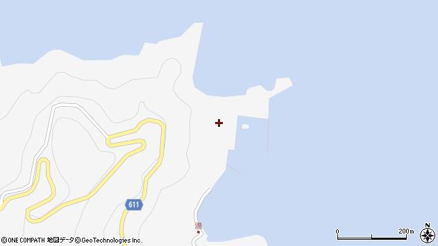大分県津久見市四浦2382周辺の地図