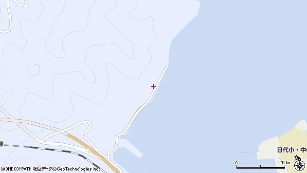 大分県津久見市日見1091周辺の地図