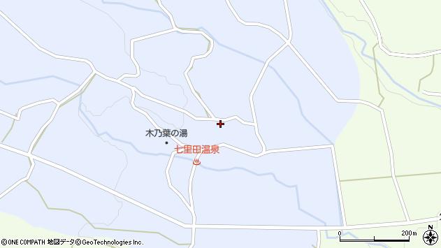 大分県竹田市久住町大字有氏4096周辺の地図