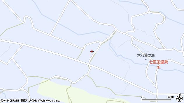 大分県竹田市久住町大字有氏3630周辺の地図