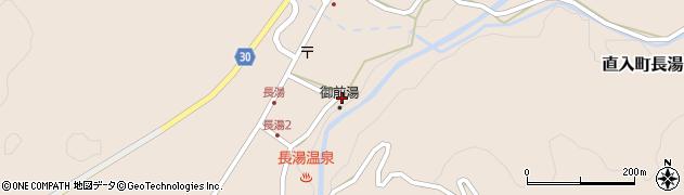 大分県竹田市直入町大字長湯7963周辺の地図