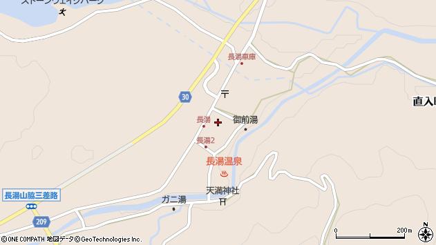 大分県竹田市直入町大字長湯7981周辺の地図