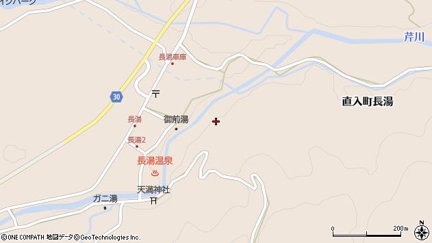 大分県竹田市直入町大字長湯7793周辺の地図
