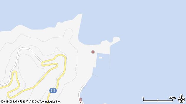 大分県津久見市四浦2332周辺の地図