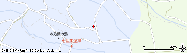 大分県竹田市久住町大字有氏4086周辺の地図