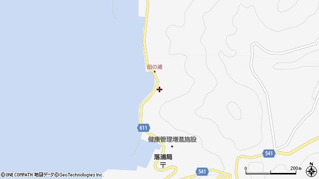 大分県津久見市四浦4071周辺の地図
