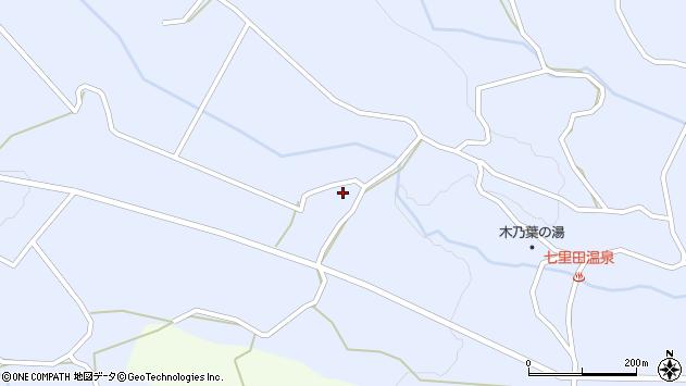 大分県竹田市久住町大字有氏3623周辺の地図