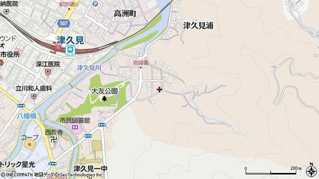 大分県津久見市岩屋町9周辺の地図