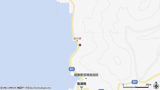 大分県津久見市四浦4077周辺の地図